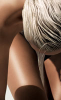 Soins bronzants protecteurs peau sensible