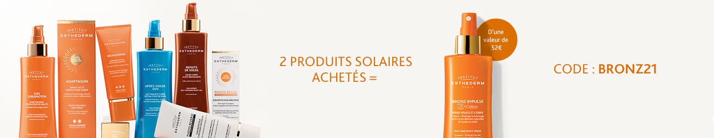 Sélectionnez vos soins solaires