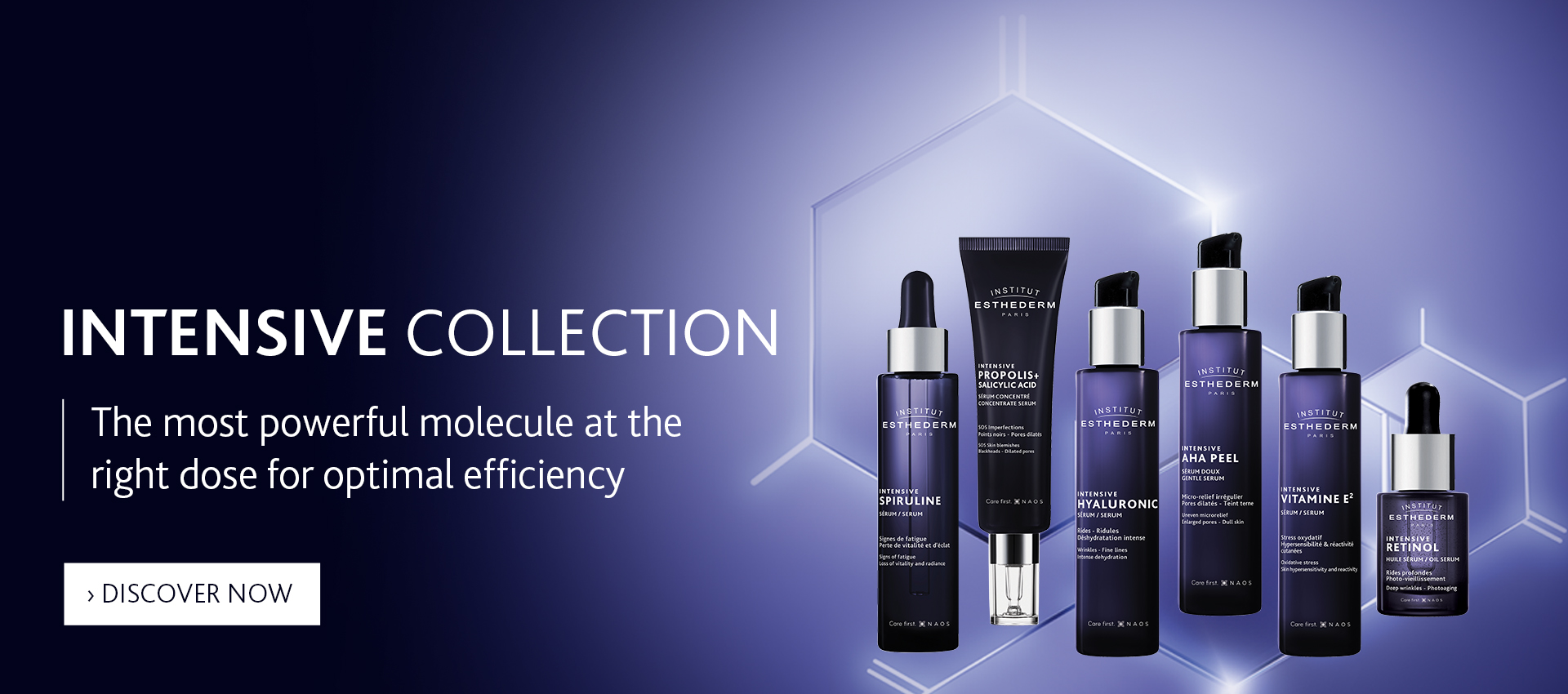 Institut Esthederm Intensive collection