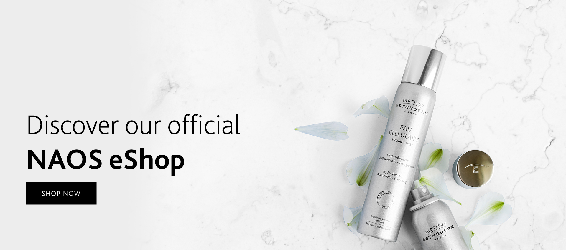 Institut Esthederm available on official NAOS eShop