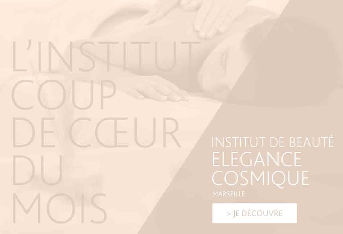 Institut coup de cœur du mois - Élégance cosmique, Marseille