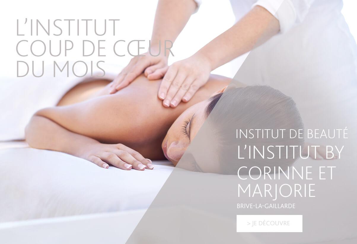 Institut coup de coeur du mois - L'Institut by Corinne et Marjorie
