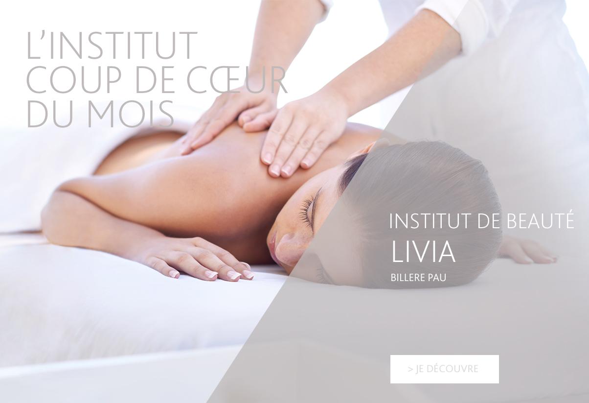 Institut coup de cœur du mois - Livia