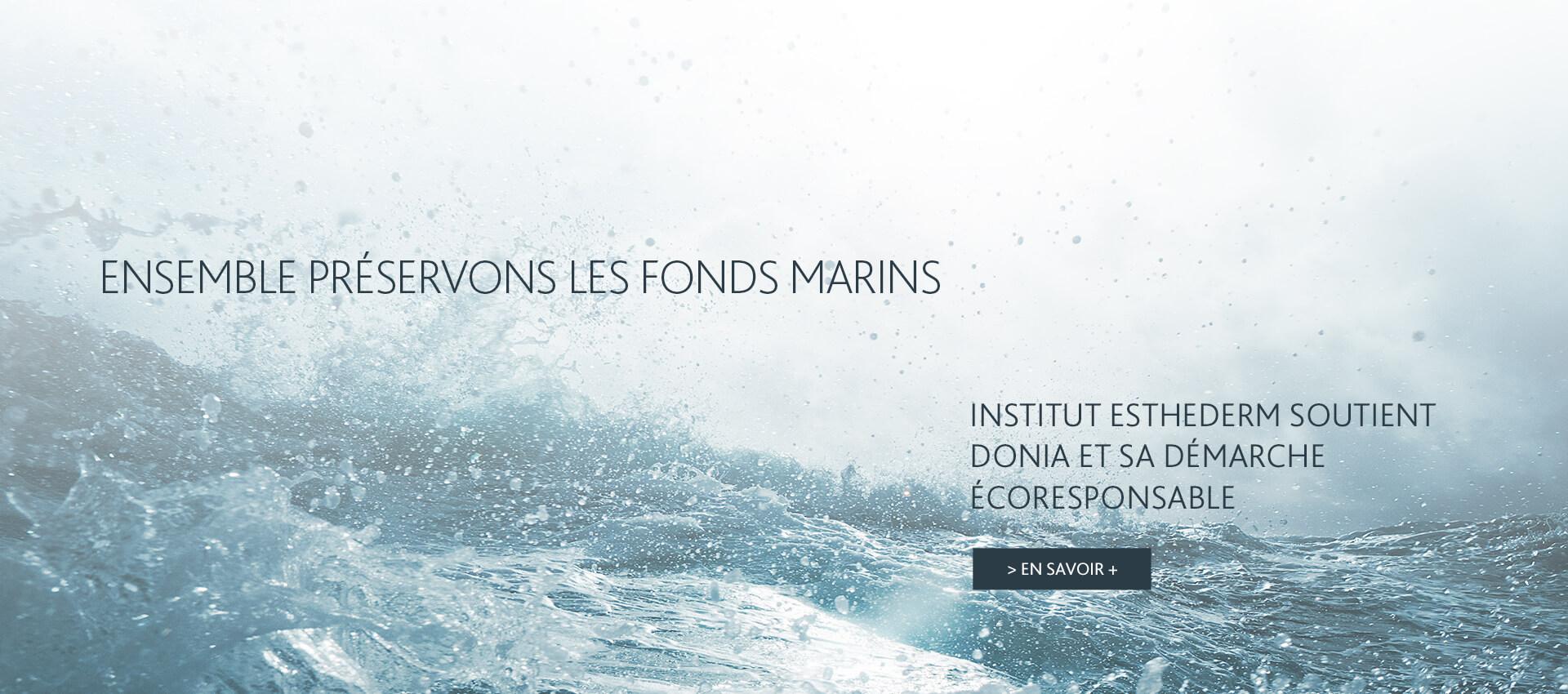 Ensemble, préservons les fonds marins