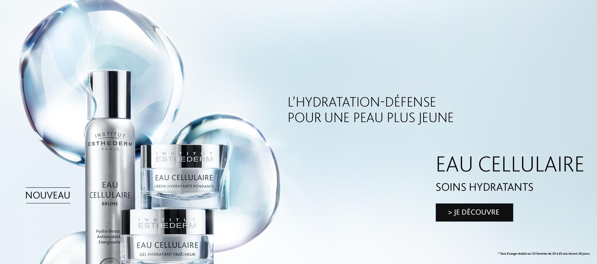 Soins Eau Cellulaire - l'hydratation-défense pour une peau plus jeune