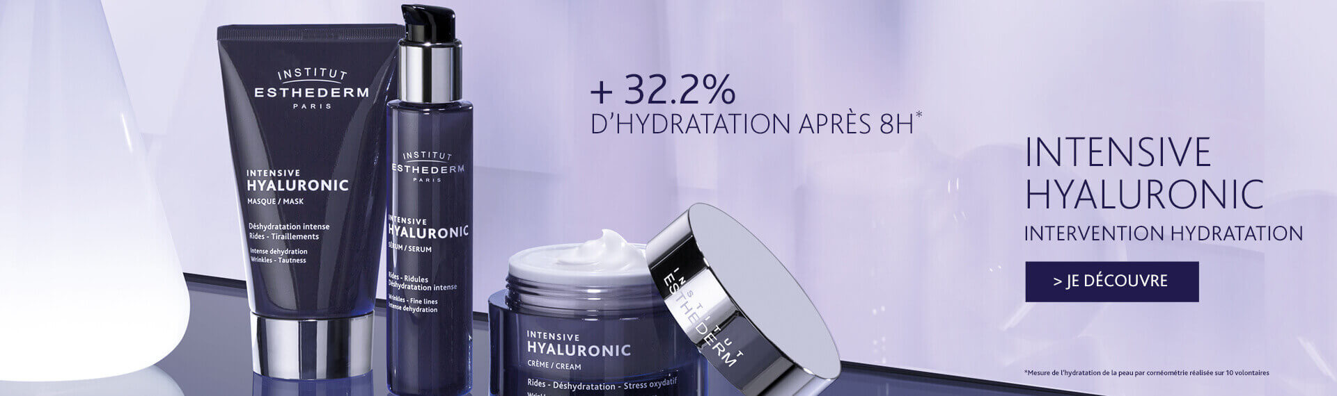 Intensive hyaluronic - intervention hydratation