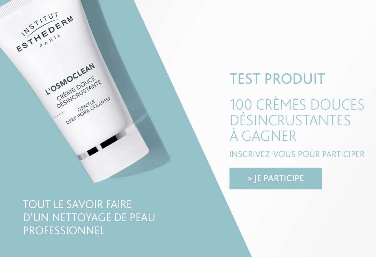Test Produit Institut Esthederm - Inscrivez-vous pour tenter de gagner une Crème Douce Désincrustante en participant au Test Produit !
