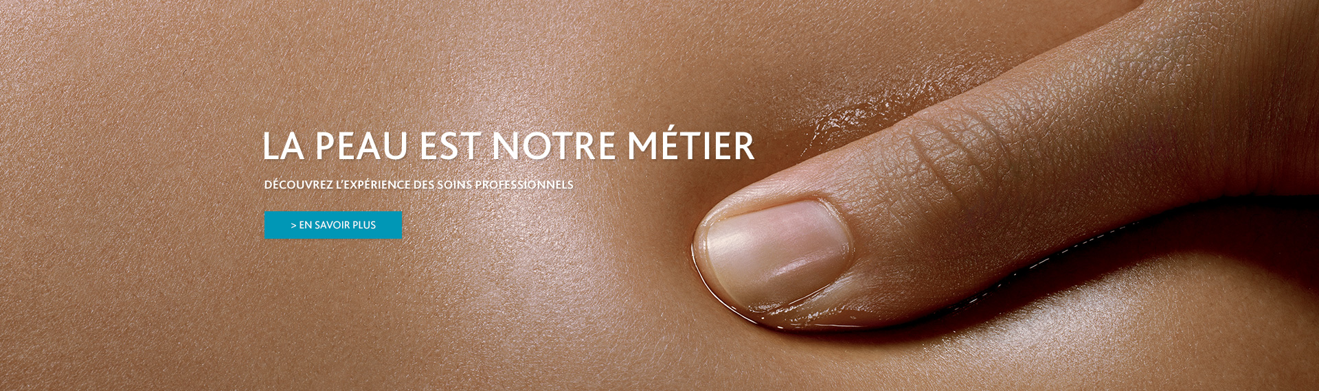 la peau est notre métier, institut esthederm