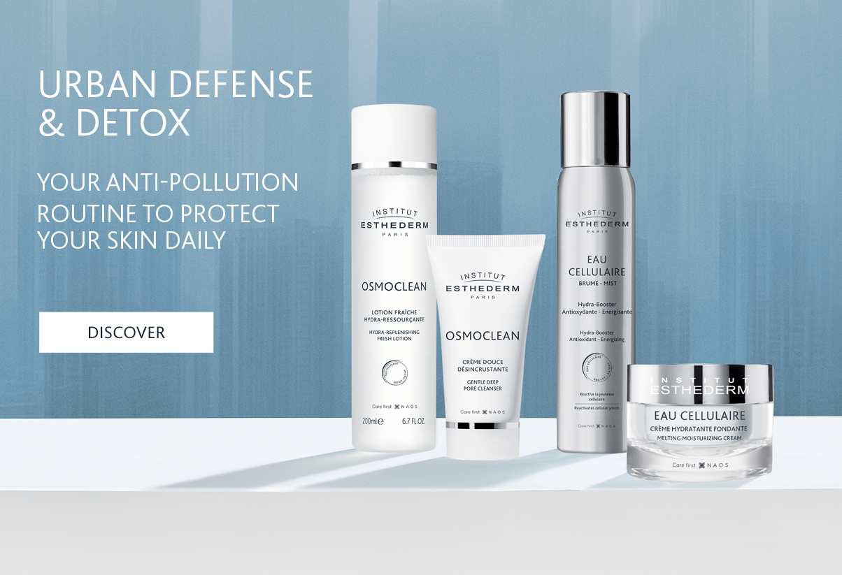 Institut Esthederm Cellular Water and Osmoclean detoxifying routine