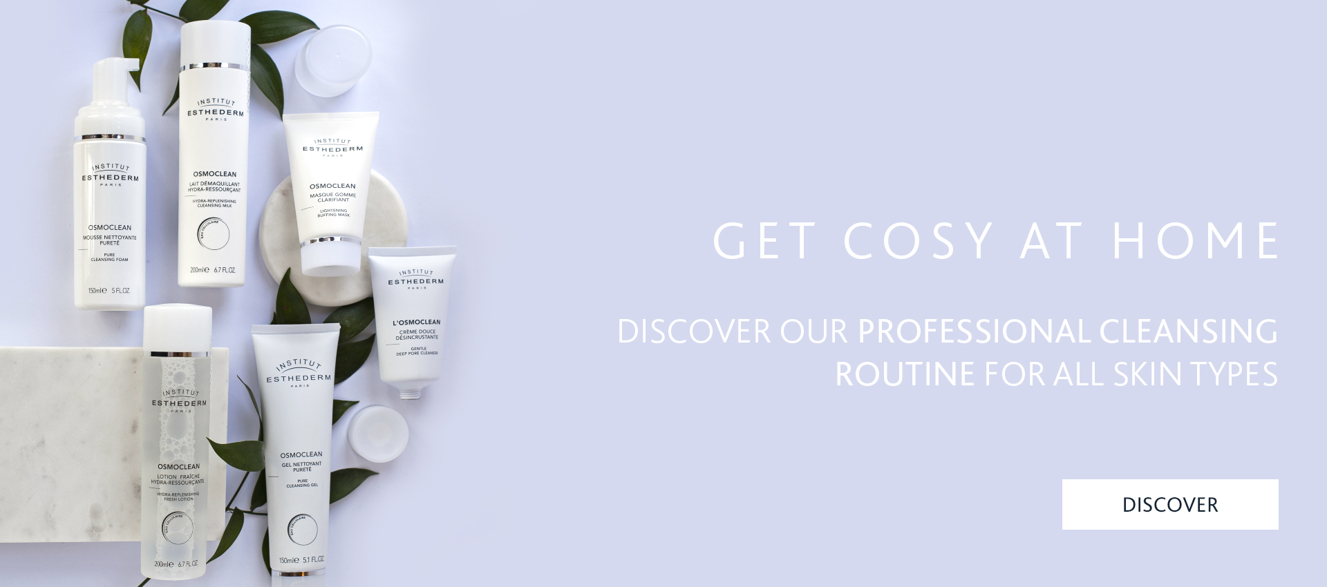 Institut Esthederm Osmoclean Facial at home routine