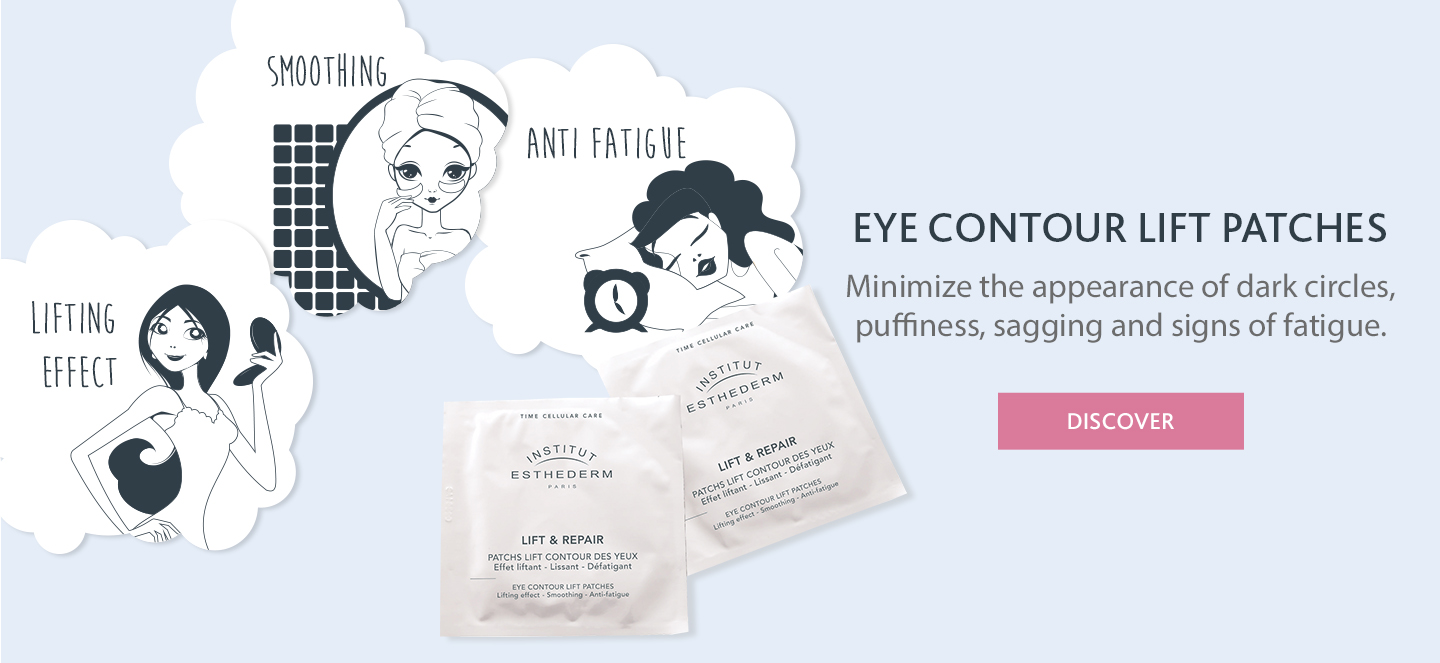 Eye contour lift patches